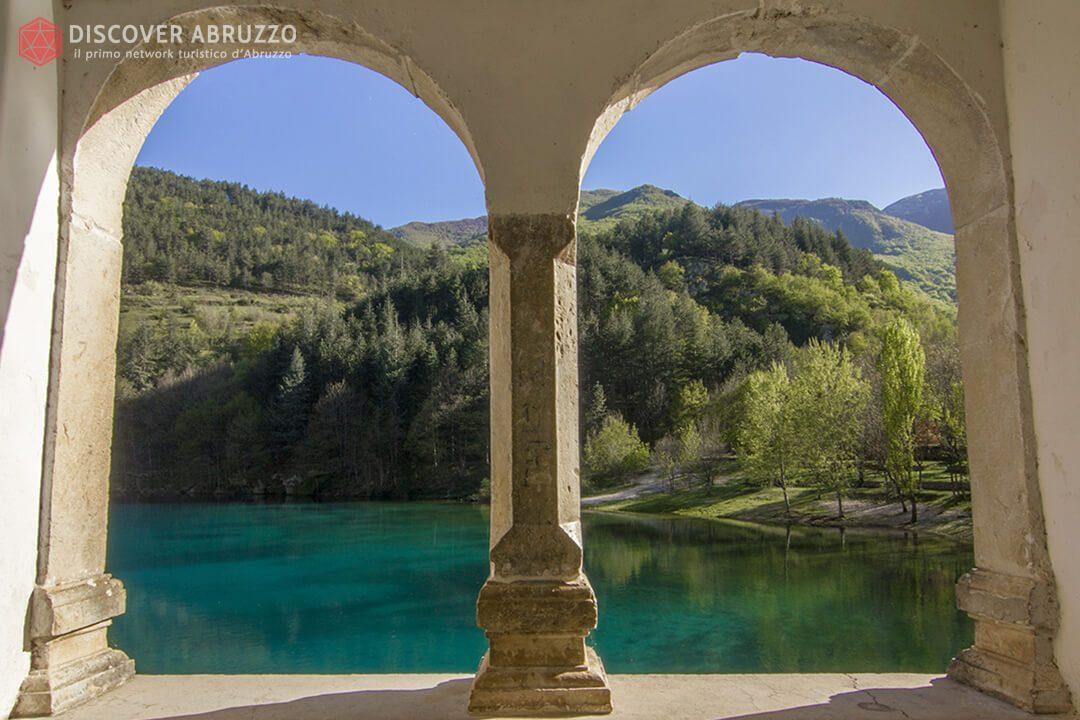 Bifora San Domenico Eremo Lago Scanno