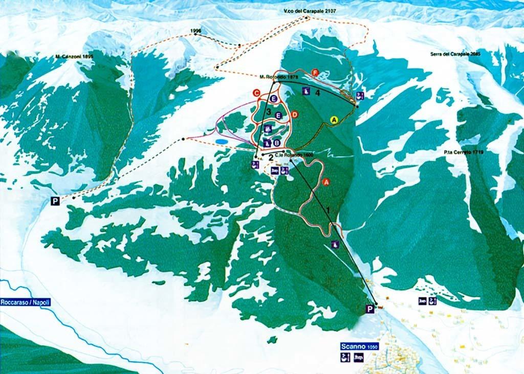 Scanno Passo Godi Infografica Impianti Discover Abruzzo