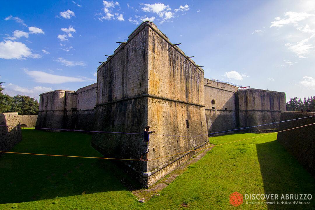 Risultati immagini per forte spagnolo castello l'aquila